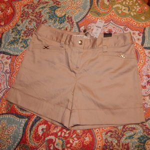 WHBM SATEEN SHELL SHORTS 2 NWT
